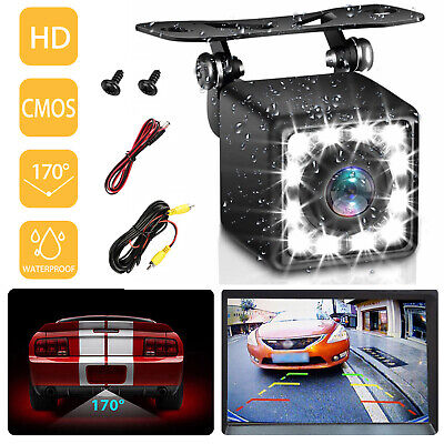 """Wireless Rear View Backup Camera Night Vision System+4.3"""" Monitor For Car Truck"""