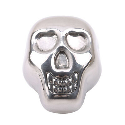 Skull Stainless Steel Ice Cube Cooler Wine For Bar Cooling ey Stone B