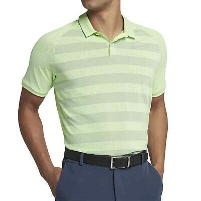 8ea825ef0d NWT NIKE MENS Zonal Cooling Stripe Golf Polo Shirt AH8467 701 L $75 ...