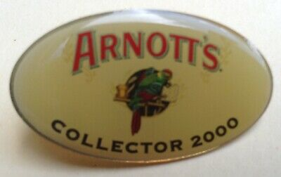 Arnotts Collector Pin Arnott's Famous Biscuits 2000 Badge