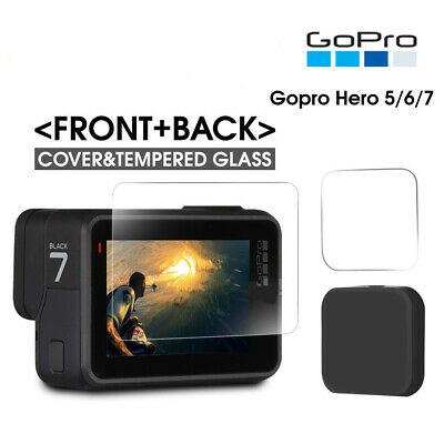 Fits GoPro Hero 7 6 5 Protector Cover Lens Cap Black action Camera Accessories