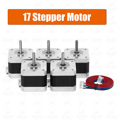 1pcs Nema 17 Stepper Motor Bipolar 1.4A 500rpm 4 Wires CNC Robot 3D Printer