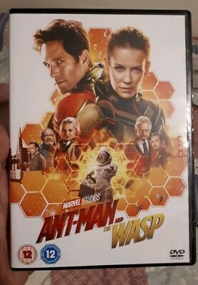 Ant Man And The Wasp DVD - Marvel - Avengers UK REGION 2
