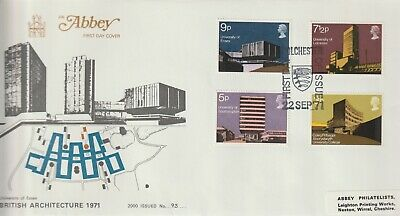 Gb Stamps First Day Cover 1971 University Colchester Abbey Rares Collection