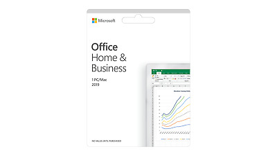 New Microsoft Office Home and Business 2019 Digital Delivery - 1 Device - PC/Mac