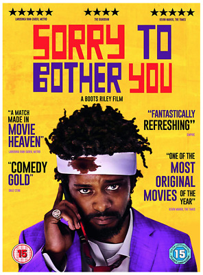Sorry to Bother You - Comedy UK DVD Region 2 Stock 2019 - Brand New & Sealed