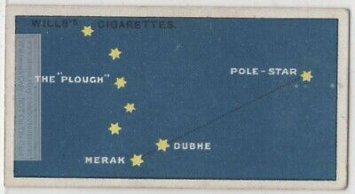 Pole Star Polaris Ursa Minor Constellation Astronomy 95+ Y/O Trade Ad Card