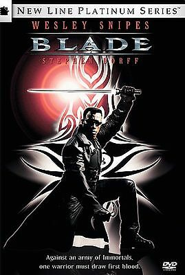 Blade (DVD, 1998, Platinum Edition) WIDESCREEN WESLEY SNIPES * FREE S/H