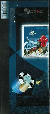 Canada Sc#2111a Search And Rescue: Ground rescue with Dog, Sat & BCode, Used