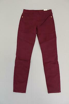 f75b23b0ce574 Justice Girl's Mid Rise Color Pull On Jean Leggings GS2 Purple Size 14 NWT