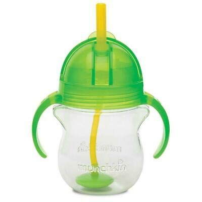 Munchkin Click-Lock 7oz Weighted Straw Cup 1pk, Green