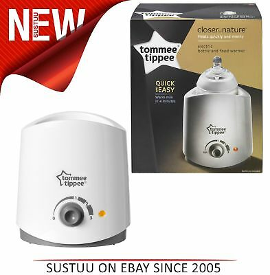 Tommee Tippee Closer to Nature Electric Baby Food and Bottle Warmer│Quick Heater