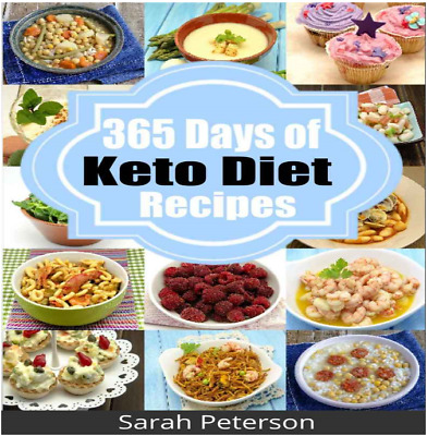 Ketogenic Diet: 365 Days of Keto, Low-Carb Recipes for Rapid Weight LOSS⚡pdf⚡