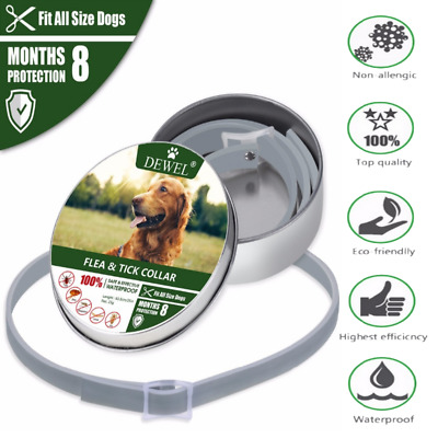 Bayer Dewel And Tick Collar Large Dog Over 18Lbs 8 Month Protection Waterproof