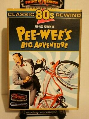 Pee Wee's Big Adventure  NEW DVD FREE SHIPPING!!