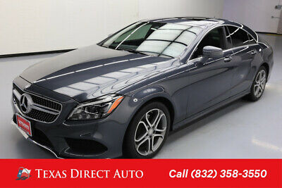 2016 Mercedes-Benz CLS-Class CLS 400 Texas Direct Auto 2016 CLS 400 Used Turbo 3L V6 24V Automatic AWD Sedan Premium
