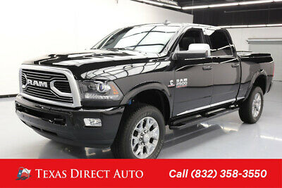 2018 Ram 2500 Limited Texas Direct Auto 2018 Limited Used Turbo 6.7L I6 24V Automatic 4WD Pickup Truck