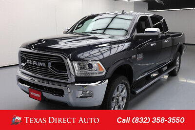 2018 Ram 2500 Limited Texas Direct Auto 2018 Limited Used 6.4L V8 16V Automatic 4WD Pickup Truck