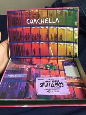 GA wristband for 3-Day Pass to Coachella Weekend 2 | Shuttle Pass also included