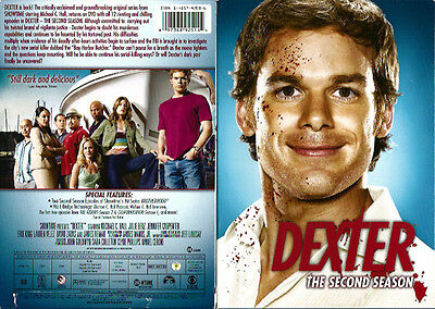 Dexter - The Complete Second Season Jennifer Carpenter (DVD, 2008, 4-Disc Set)