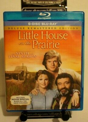 Little House on the Prairie: Season 9 Ninth & Final BLU-RAY FREE SHIPPING!!