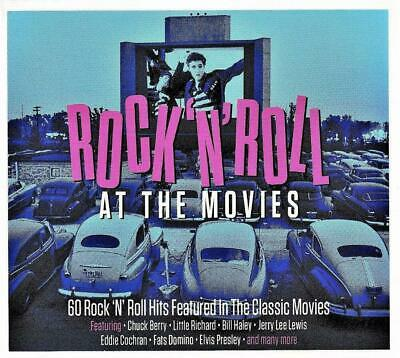 Rock N Roll At The Movies VARIOUS ARTISTS Best Of 60 Classic Songs NEW 3 CD