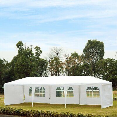 10'x30' Portable Wedding Party Tent Outdoor Event Camping Gazebo Canopy