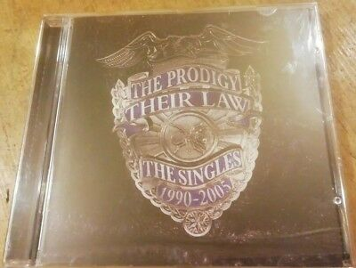 The Prodigy - their law : the singles 1990-2005 (CD 2005)