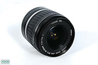 Canon 18-55mm F/3.5-5.6 II EF-S Mount Lens For APS-C Sensor DSLRS {58}