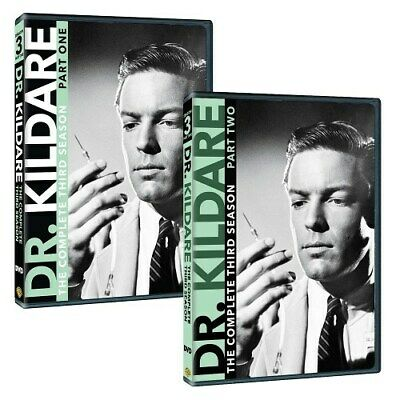 DR KILDARE COMPLETE THIRD SEASON 3 PARTS ONE & TWO New Sealed 8 DVD Set