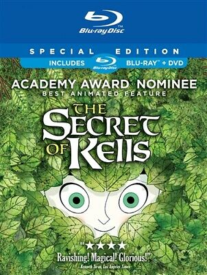 THE SECRET OF KELLS New Sealed Blu-ray + DVD Special Edition