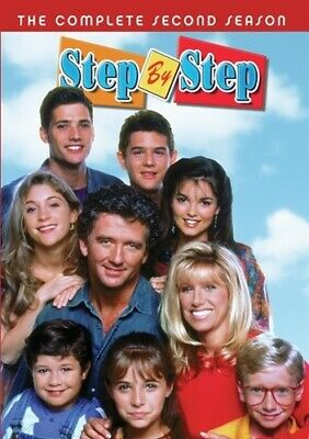 STEP BY STEP TV SERIES COMPLETE SECOND SEASON 2 New Sealed 3 DVD Set