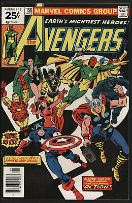 Avengers 150. Recap Of History And Team Changes. Bright Glossy Copy.