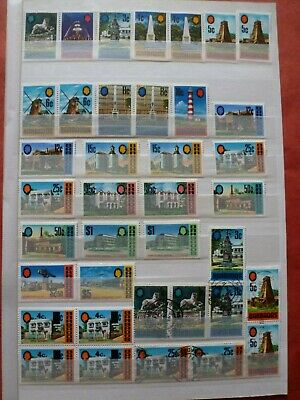 Stock Page Of 38 Barbados Stamps - Mint / Used Collection (139)