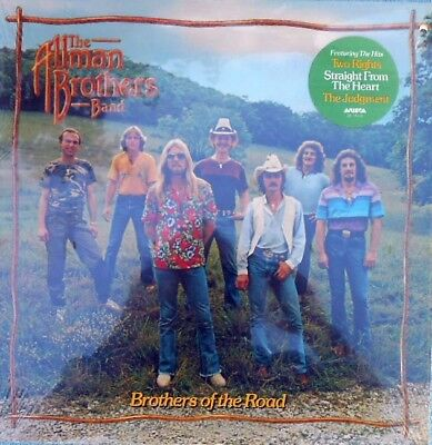 Allman Brothers Band Sealed US LP Brothers of the road Arista '81 Southern rock