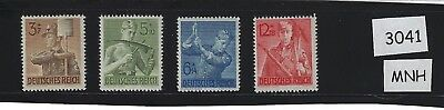 MNH stamp set / Nazi Germany / Reich Labor Corps / Complete 1943 Third Reich set