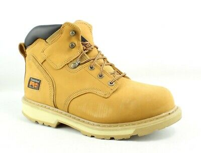 84dff4afc04 TIMBERLAND PRO MENS Pit Boss Wheat Work & Safety Boots Size 10.5 (200362)