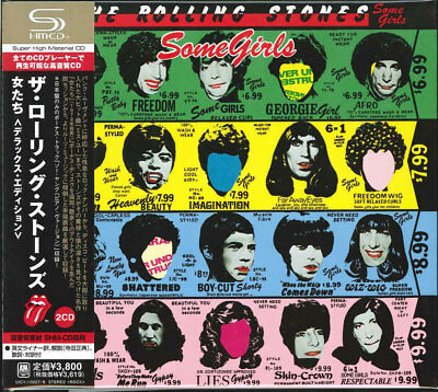 The Rolling Stones-Some Girls [Deluxe Edition]-Japan 2 Shm-Cd Bonus Track I50