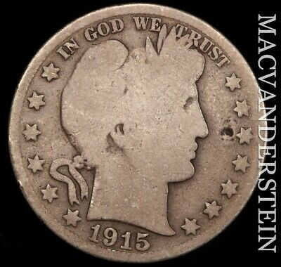 1915-S Barber Half Dollar- Scarce !! Better Date !! #e429