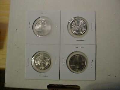 2011 Chickasaw P&D America The Beautiful Quarters - BU - Uncirculated
