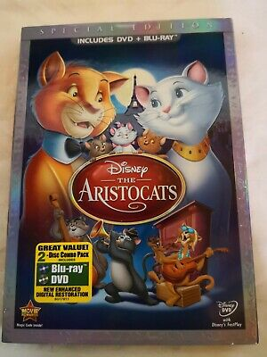RARE Special Edition DISNEY DVD/BLU-RAY: THE ARISTOCATS Lot