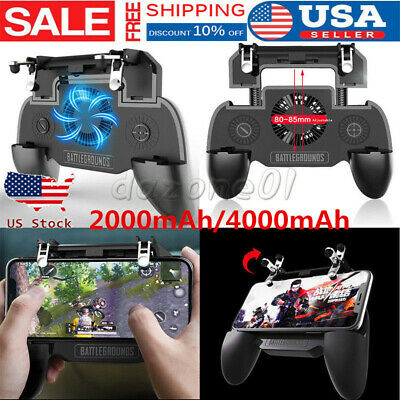 Mobile Phone PUBG Game Controller Joystick Cooling Fan Gamepad for Android/IOS