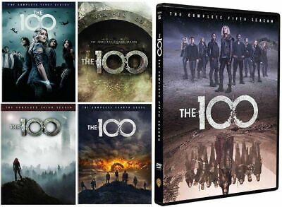 The 100: The Complete Series Seasons 1-5 (DVD, 2018, 17-Disc Set) NEW