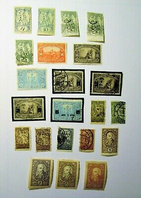 YUGOSLAVIA, 1919-1924,  Lot of (22) Mostly Unused, Hinged Stamps