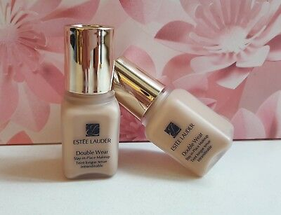 Estee Lauder Double Wear Stay-in-Place Makeup Foundation 1C1 COOL BONE 7ml x 2