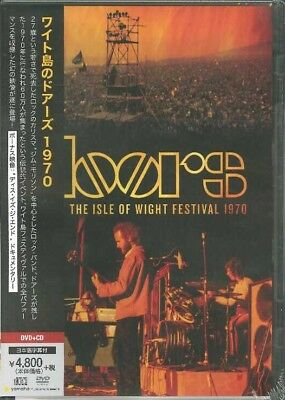 DOORS-LIVE AT THE ISLE OF WIGHT FESTIVAL 1970-JAPAN DVD+CD L60 zd