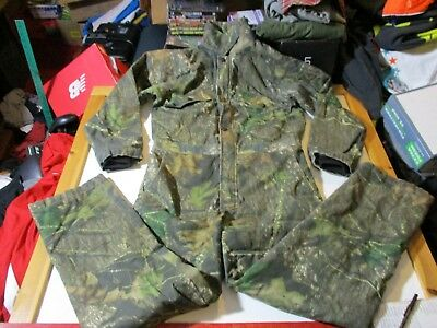 c49c2a5af6a77 Mossy Oak Brand Field Staff Camo Camouflage Insulated Coveralls-Men's Sm  28-30