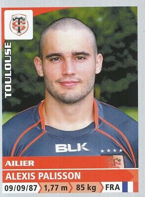 260 Alexis Palisson # Stade Toulousain Top 14 Sticker Panini Rugby 2015