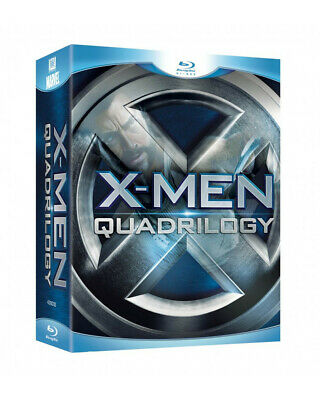 X-Men Quadrilogy Blu Ray