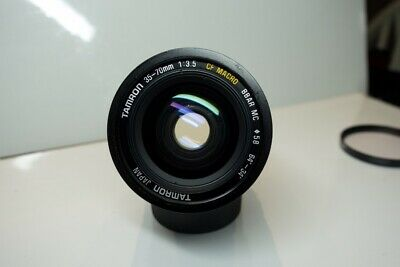 Tamron Adaptall 2 (Pentax K) 35-70mm f3.5 Zoom Lens with case & Instructions